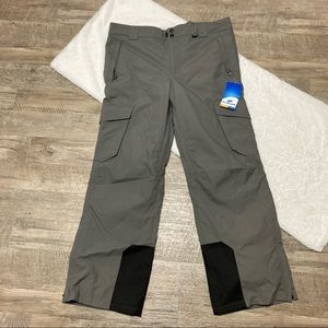 NWT Men's Cargo snow pants insulated - L